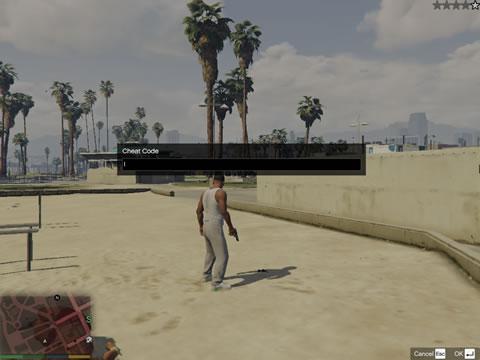 enter gta 5 cheats on pc thumb - Free Game Cheats