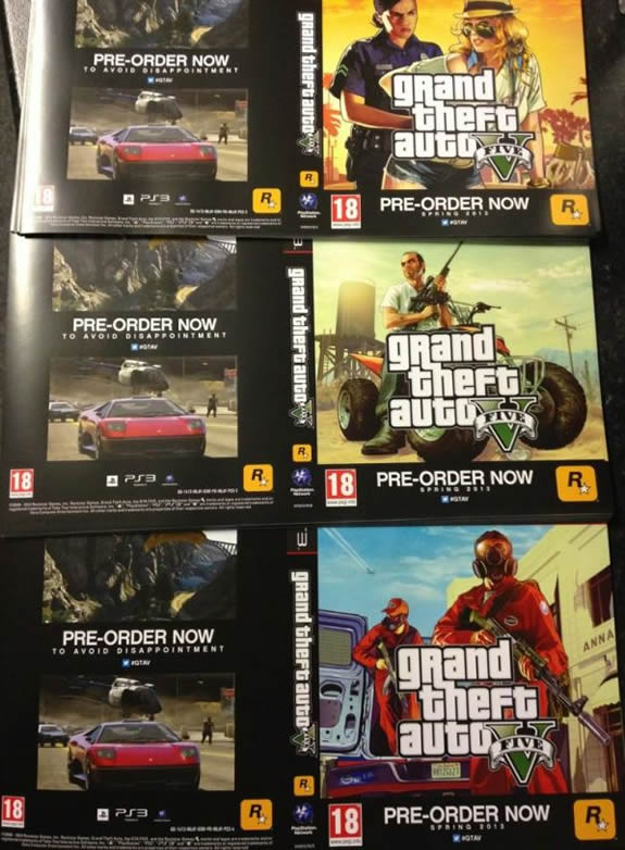 promo flyers for gta v